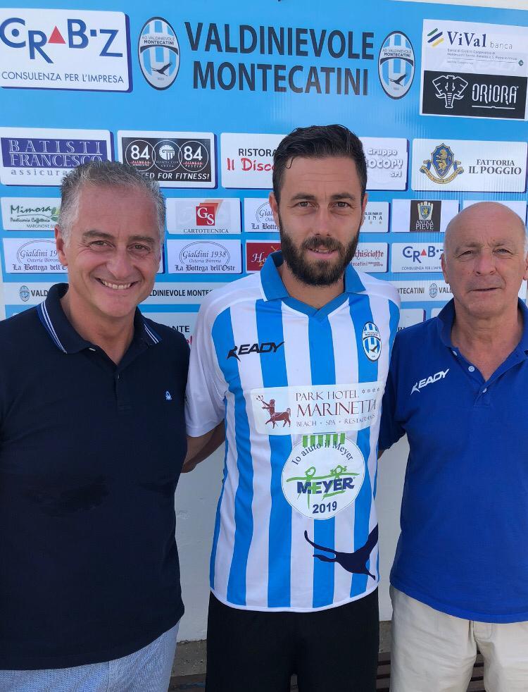 Eccellenza, Montecatini ufficiale il centrocampista Francesconi