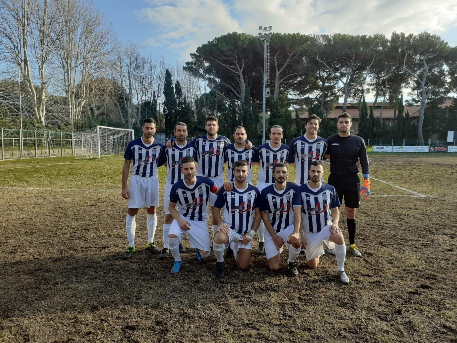 Terza Categoria, New Rosignano Solvay gioco, partita (6-0) e accesso in finale di Coppa