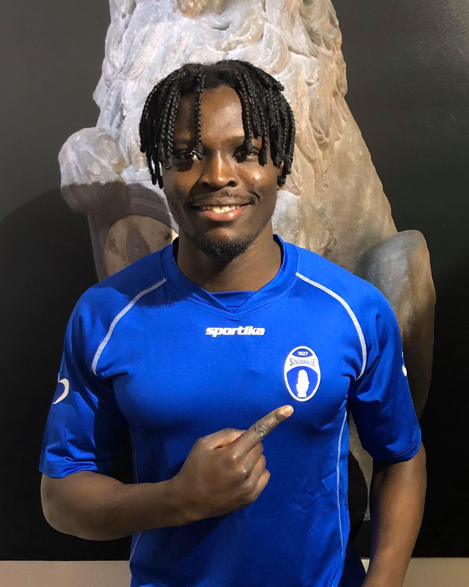 Serie D, Sangiovannese dal Belgio arriva il difensore Palm Pius Borel