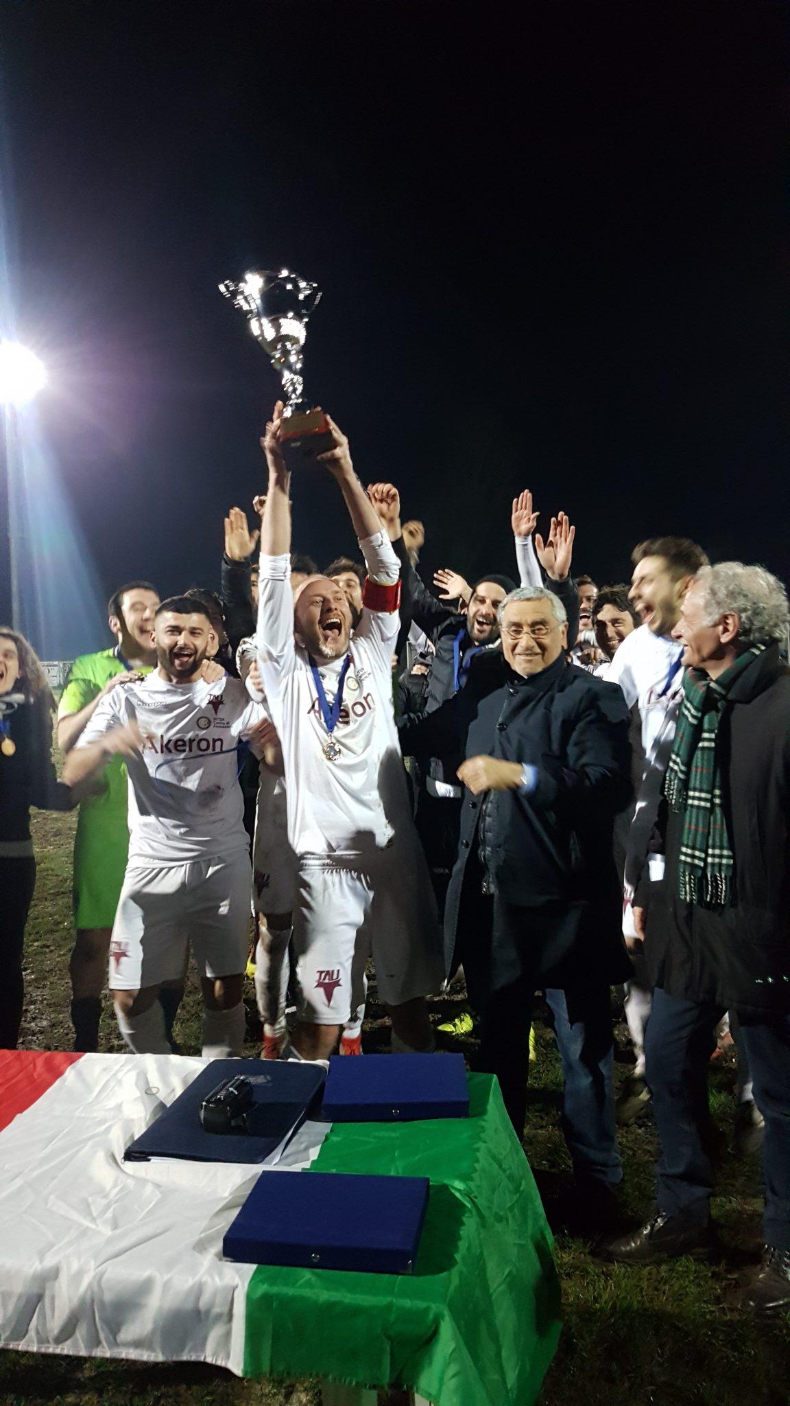 Terza Categoria Lucca, l'Academy Tau vince la Coppa Provinciale