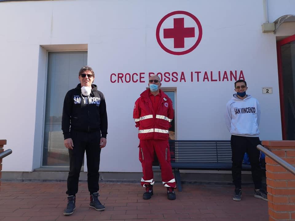 Emergenza Coronavirus, il San Vincenzo  devolve un contributo alla Misericordia e alla Croce Rossa Italiana
