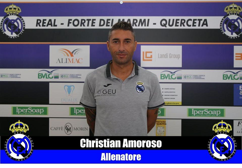 Serie D, Real Forte dei Marmi Querceta conferma in panchina per Christian Amoroso