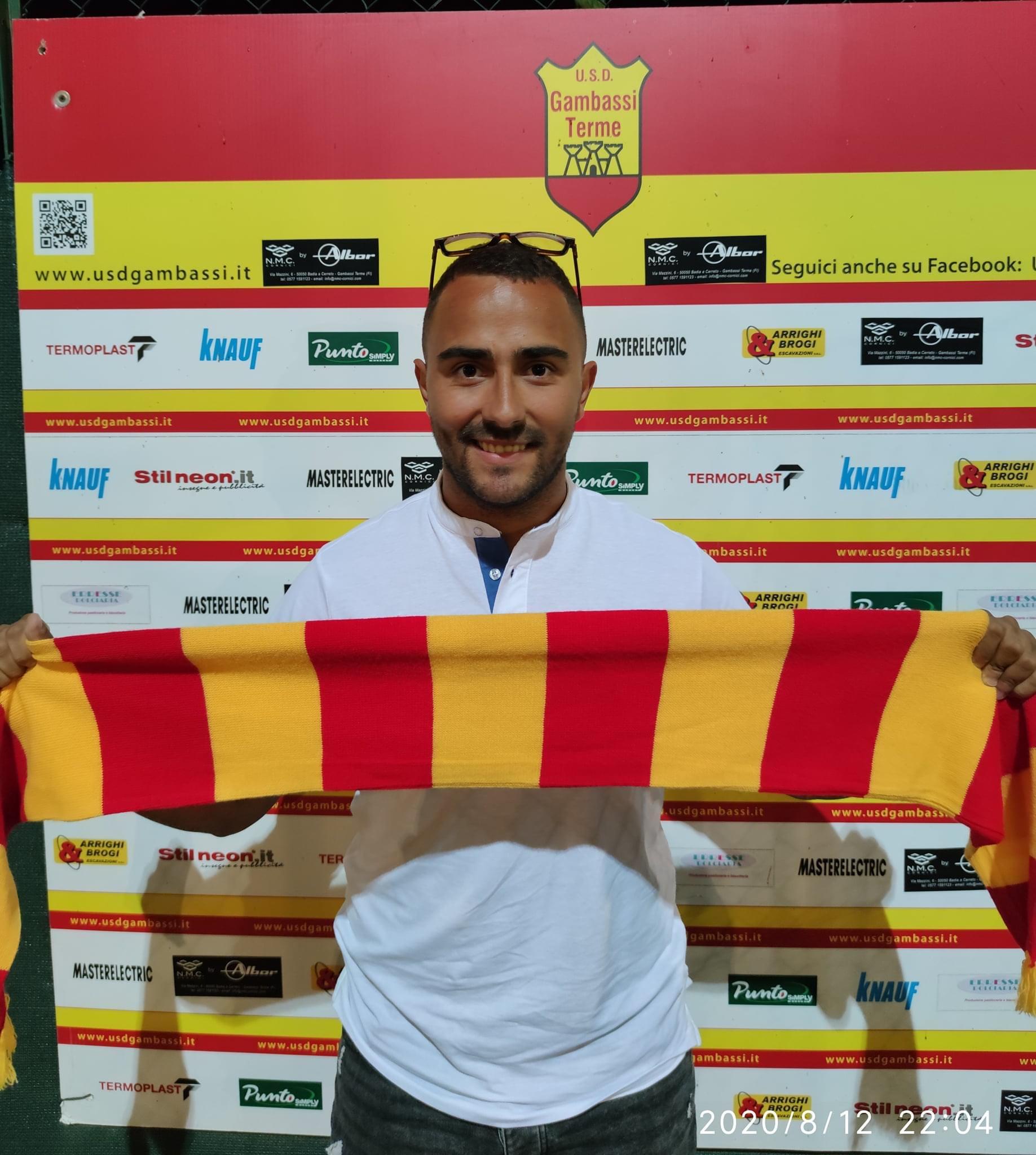 Promozione, Gambassi accordo con il centrocampista Fossati
