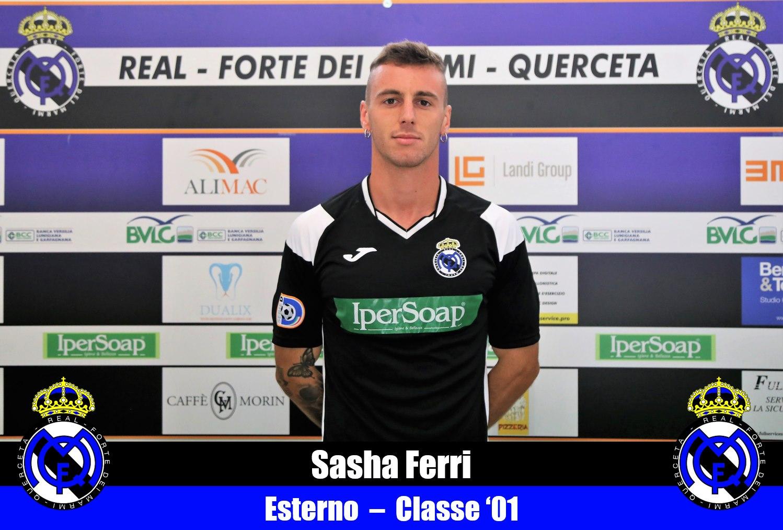 Serie D, Real Forte Querceta tesserato l'esterno Sasha Ferri