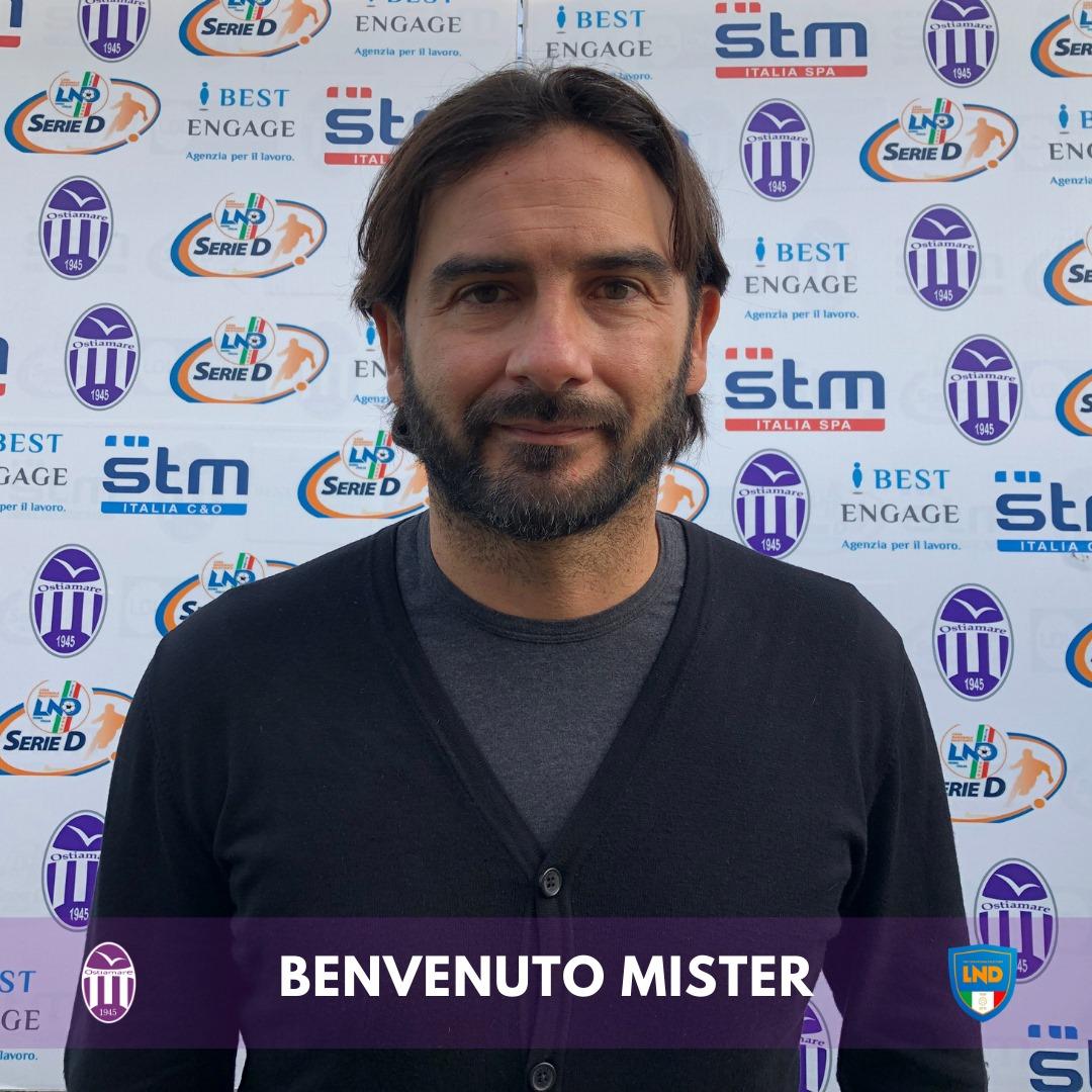 Serie D, Stefano De Angelis è il nuovo allenatore dell'Ostia Mare