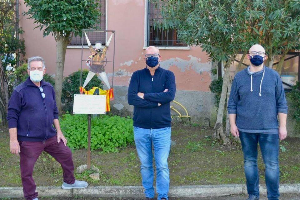 Poggibonsi, nuova veste per il giardino di Stefano Lotti