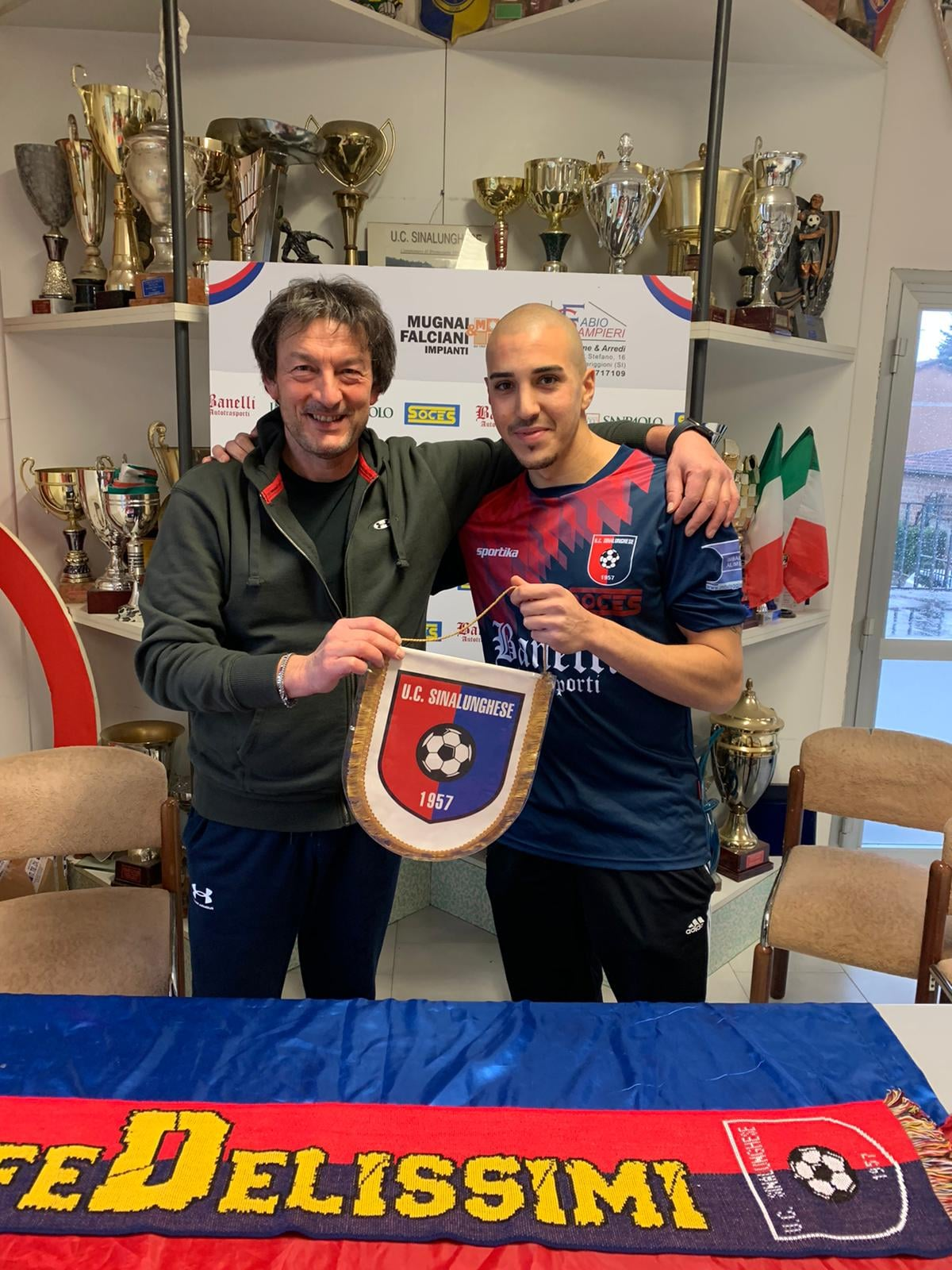 Serie D, Sinalunghese accordo con l'attaccante De Patre