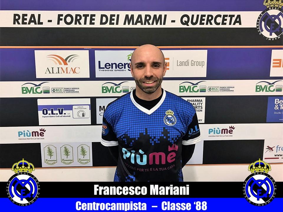 Serie D, Real Forte Querceta tesserato il centrocampista Mariani, in uscita l'esterno Benedetti