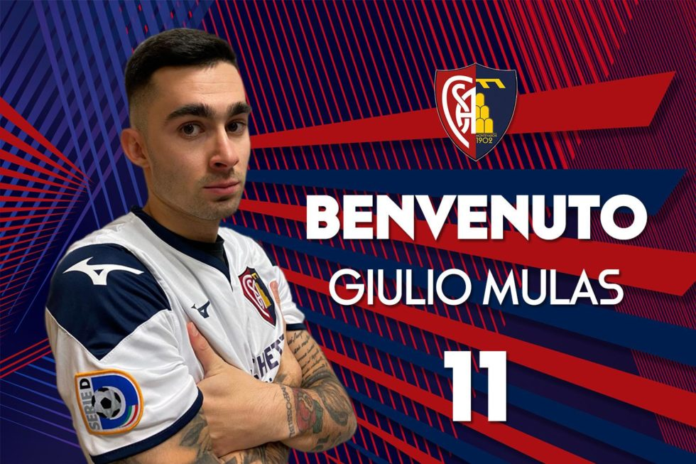 Serie D, Montevarchi tesserato il difensore Mulas
