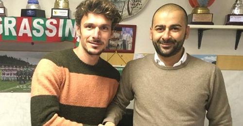 Serie D, Grassina presentato il centrocampista Zagaglioni