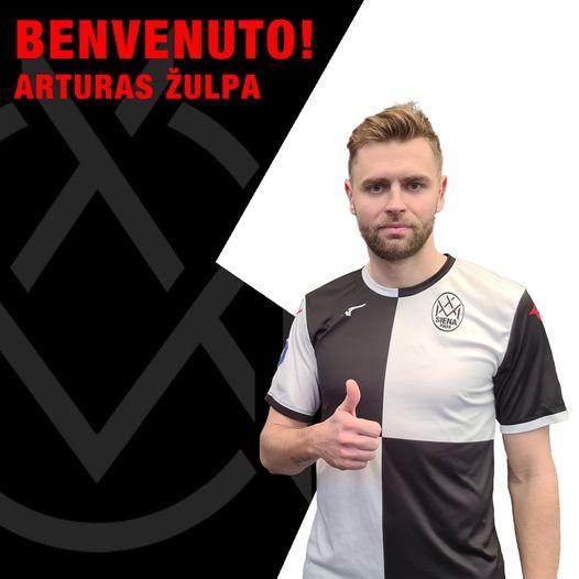 Serie D, Siena tesserato il centrocampista lituano Zulpa