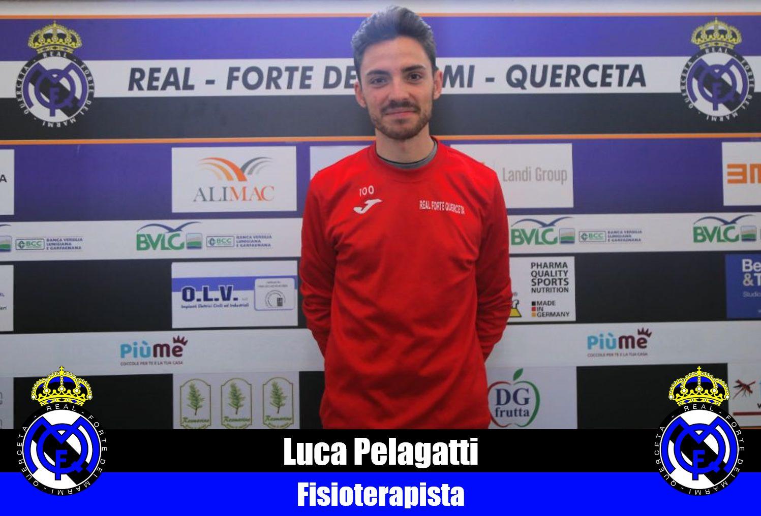 Serie D, Real Forte Querceta, Luca Pelagatti nuovo fisioterapista